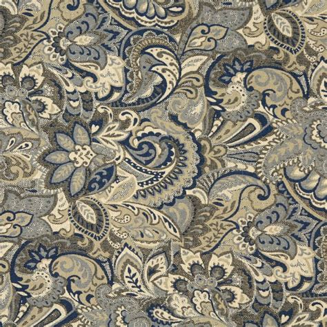 blue paisley upholstery fabric beige and dark blue tan abstract paisley upholstery fabric