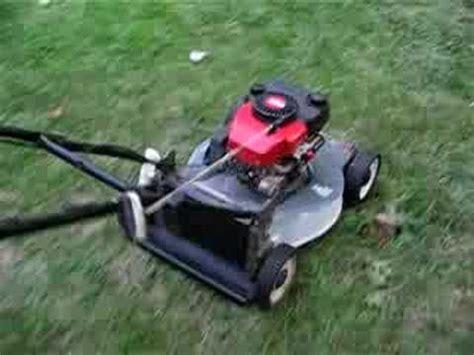 craftsman eager  lawn mower running part