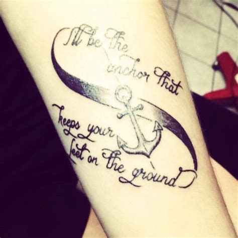 sister anchor tattoos 25 best ideas about infinity tattoos on