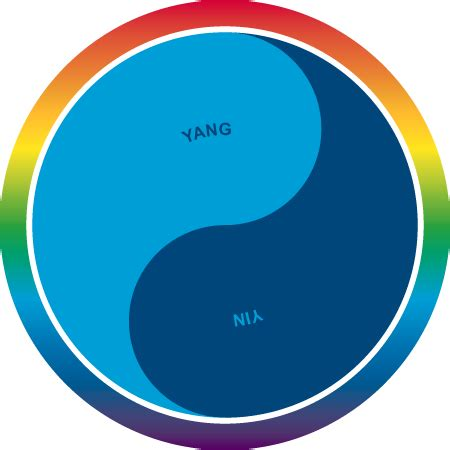 what color is yin yin yang and rainbow colors