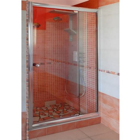 porte doccia porta battente per box doccia nicchia vetro trasparente o