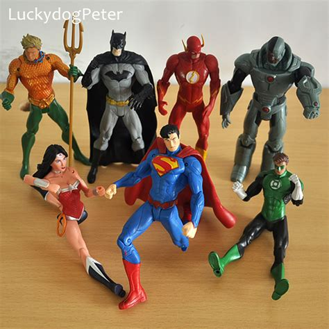 Figure Dc Justice League Set Supermanbatmandll 7 Pcs flash age promotion shop for promotional flash age on aliexpress