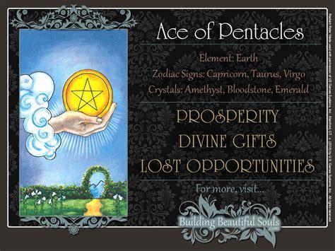The Ace of Pentacles Tarot Card Meanings   Tarot Reading