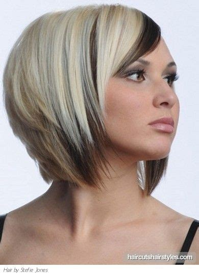 medium bob hairdtlte with no weight in the back medium two tone bob haircut for mom p pinterest a