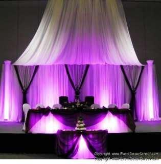 Professional Wedding Backdrop Kit by Professional Wedding Backdrop Kit W Pipe Drape Valence