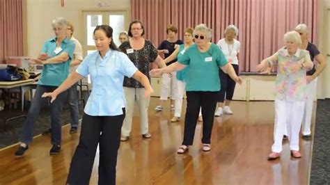 is chi color good for older woman with thinning hair older women s wellness activity tai chi class youtube