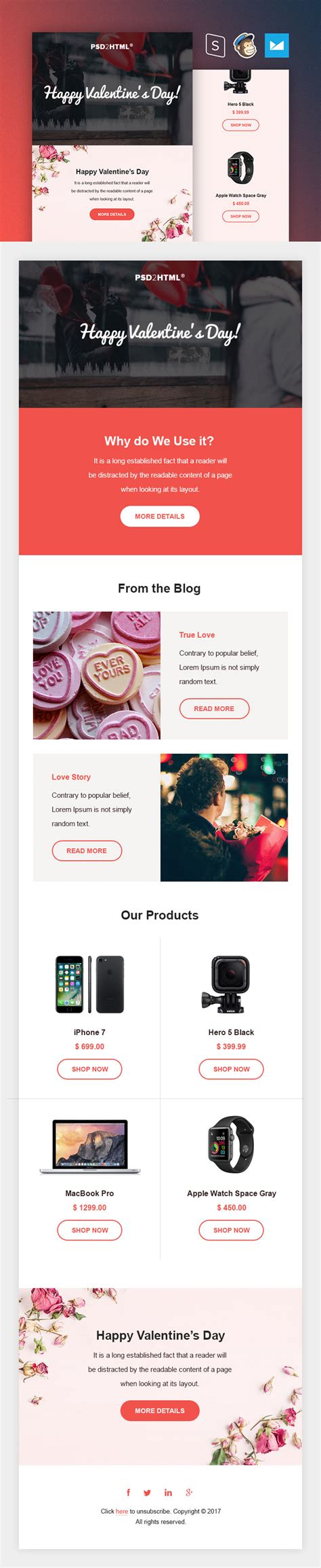 Valentine S Day Email Template Free Download Day Email Template