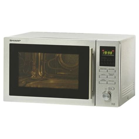 Microwave Grill Sharp buy sharp r82stma combination microwave oven with grill 25l silver from our sharp range tesco