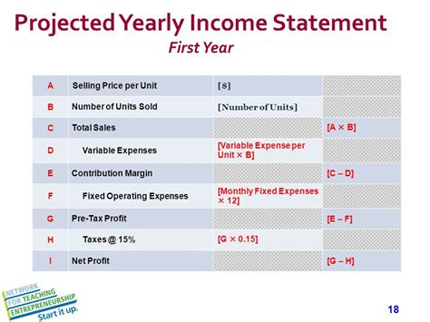 first section of an income statement remove slide before presenting ppt download