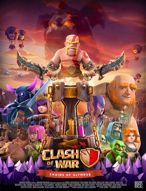 film layar lebar clash of clans clash of clans on twitter quot the movie poster competition