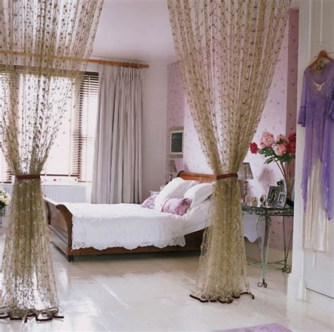 pretty bedroom curtains top 15 romantic bedroom ideas with purple themes