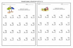 ideas about free double digit multiplication worksheets