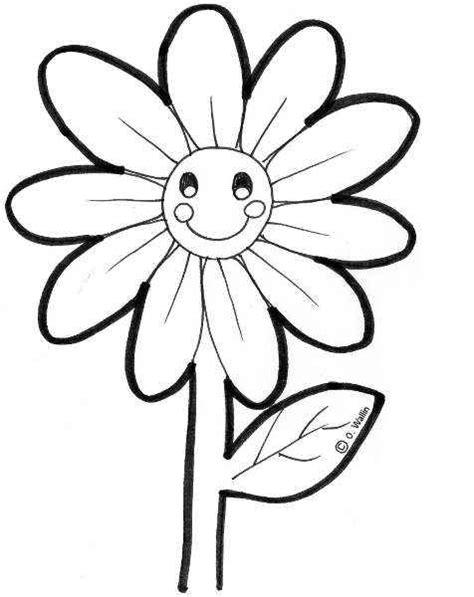 imagenes infantiles para colorear de flores dibujos de flores para colorear actividades infantil