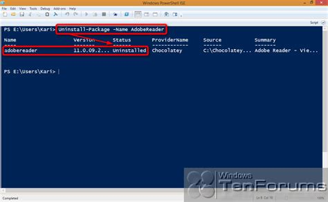 install windows 10 command line powershell packagemanagement oneget install apps from
