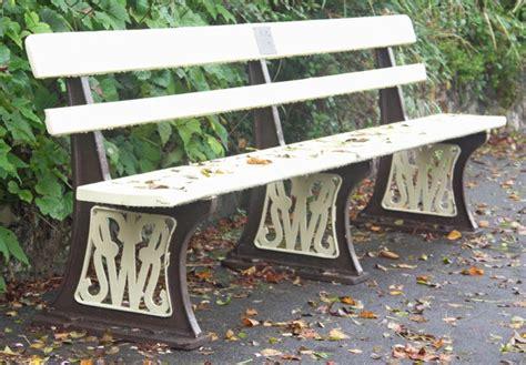 gwr bench bodmin wenford railway 2009