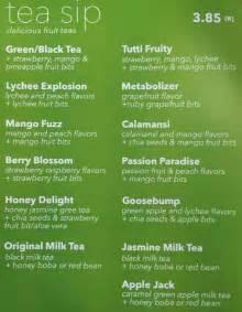 jazen tea menu menu for jazen tea oakridge vancouver