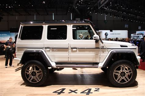 Mercedes G500 4x4 Price by Geneva 2015 Mercedes G500 4x4 Squared Arrives The