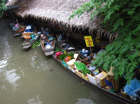 floating boat market bangkok floating market tour thai street food