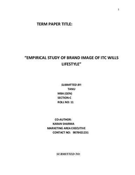 exle title of research paper 101 term paper titlesfrom stacey and billy