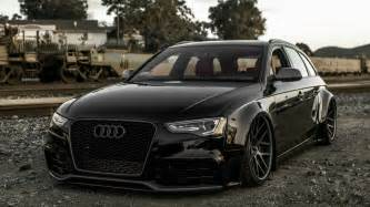 stylish black audi a4 avant wallpapers and images