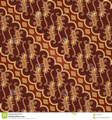 design batik parang seamless batik parang barong pattern stock vector image