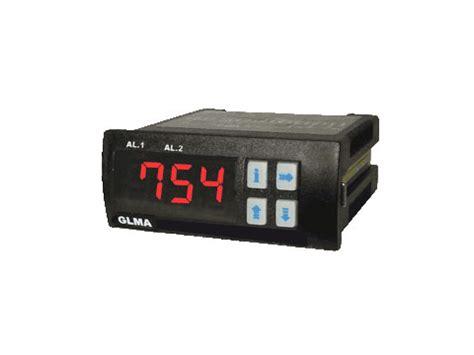 amperímetros microprocessados com alarme tipo: glma e rlma