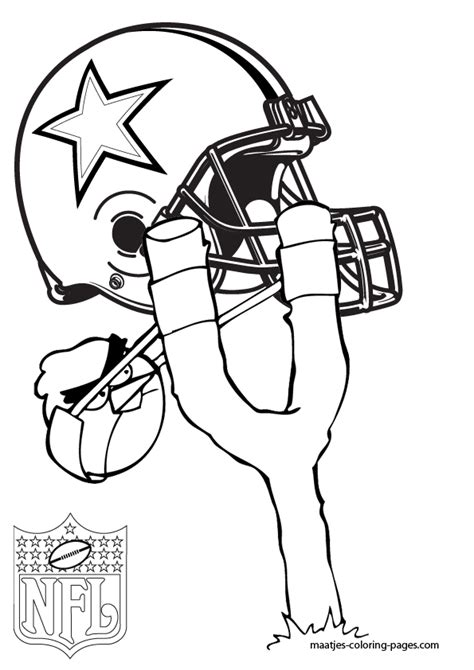 cowboys football coloring page dallas cowboys angry birds coloring pages