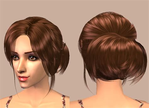 download hairstyles for sims 2 mod the sims nurey v7 casual beauty
