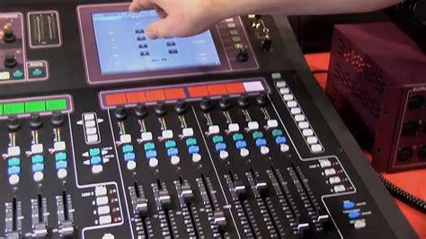 Mixer Allen Heath Gld 80 allen heath gld 80 digital mixer detailed review