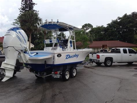 dusky boat forum dusky 21 with 275 verado the hull truth boating and