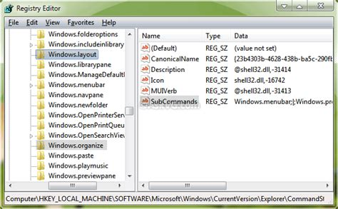 organise layout menu bar how to customize quot organize quot and quot layout quot menus in command