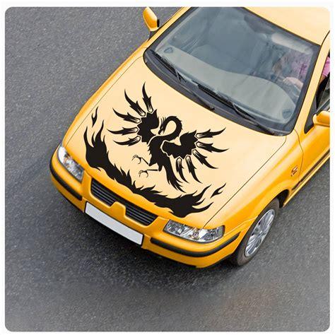 Firebird Aufkleber Motorhaube by Auto Aufkleber Phoenix Ph 246 Nix Feuervogel Motorhaube Flames