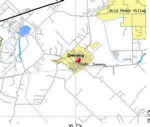 city of sweeny city maps