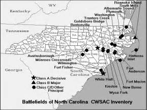 civil war battles in map carolina map of american civil war battles