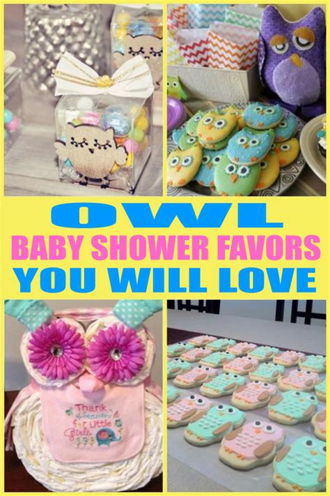 Owl Favors For Baby Shower by Owl Baby Shower Favors