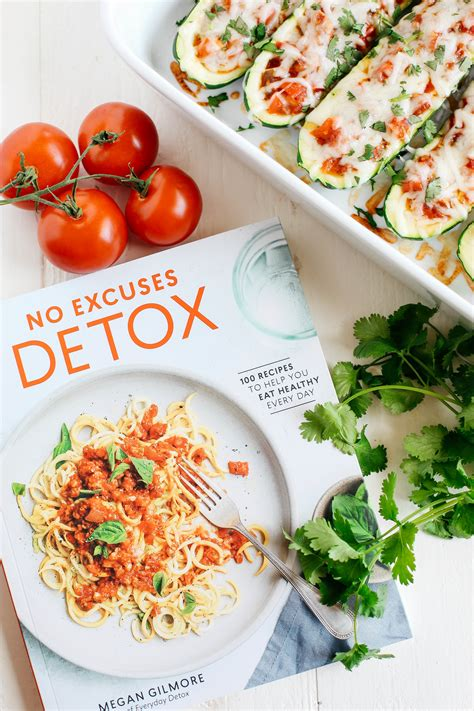 No Excuse Detox Cookbook by Enchilada Stuffed Zucchini Boats Eat Yourself