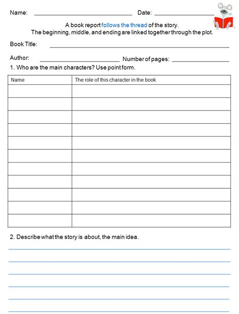 biography book report exles best photos of book report template chapter book report