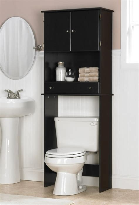 Bathroom Cabinets Toilet Storage by Outstanding Bathroom Toilet Storage Using Black