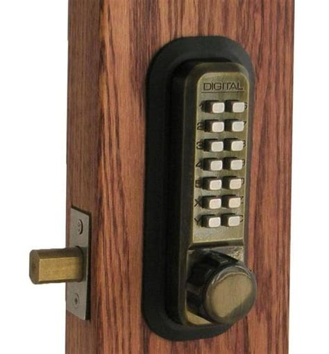 Door Knob Combination Lock by Combination Locks The The Bad The Virtualkey