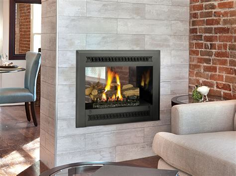 See Through Gas Fireplace Inserts by 864 See Thru Gas Fireplace Fireplaces Unlimited