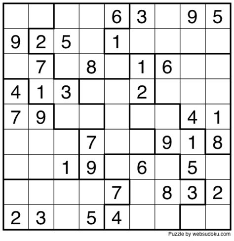 printable squiggly sudoku web sudoku printable daily sudoku variation