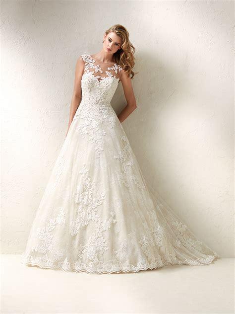 dracme princess design wedding dress with gemstones