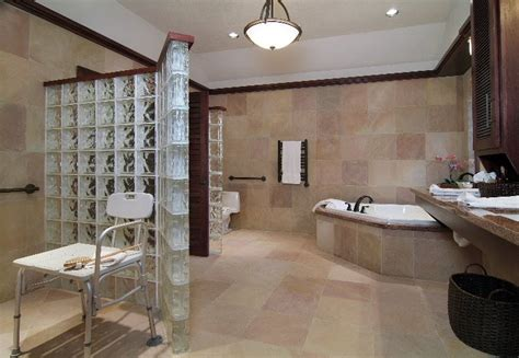 accessible bathroom designs accessible bathroom with masculine luxuryuniversal design