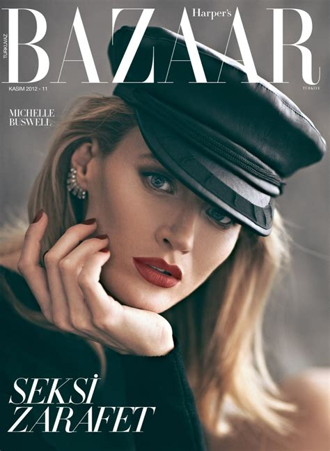 In Harpers Bazaar by Buswell For S Bazaar Turkey November 2012