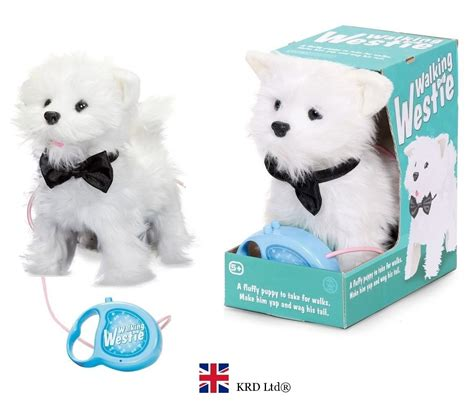 remote puppy walking westie puppy barking remote pets pet gift ebay