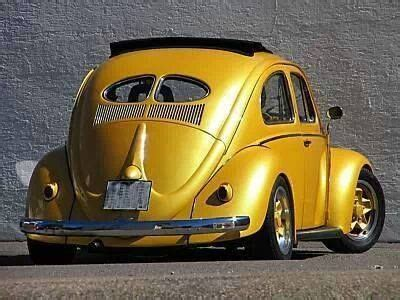 gold volkswagen beetle yellow gold vw beetle das vintage vw beetle s