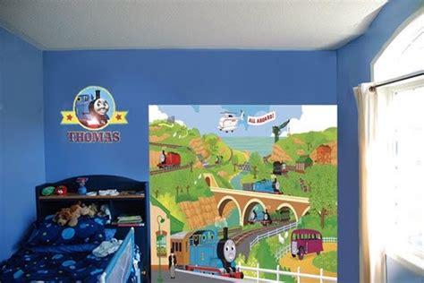 Thomas The Train Wall Mural decor kids railway wallpaper thomas wall mural train