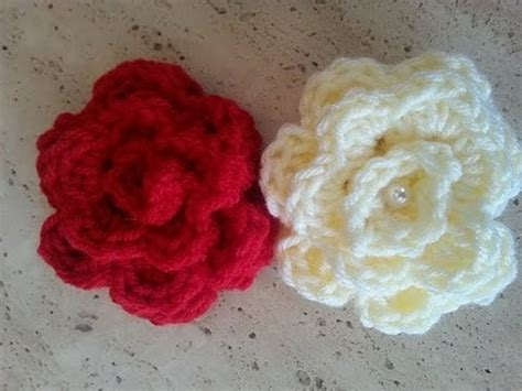 crochet flower pattern easy youtube helenmay crochet quick and easy rose diy tutorial youtube