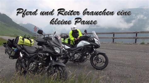Suzuki Motorrad Youtube by Motorrad Spl 252 Genpass 2016 Mit Suzuki Vstrom 650 Youtube