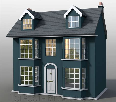 dolls houses uk grove house dolls house 1 12 scale unpainted dolls house kit ebay